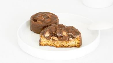 tartelette-caramel-cacahuète